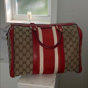 gucci boston web bag